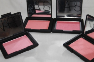 Nars blush before depotting.